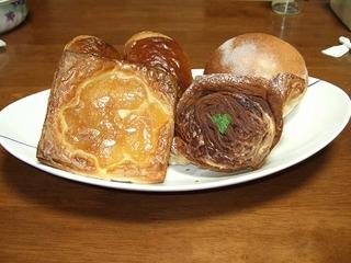 zazou(ザズー)のデニッシュ系のパン
