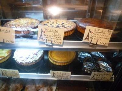 パリのパン屋さんボンジュールのスイーツ系