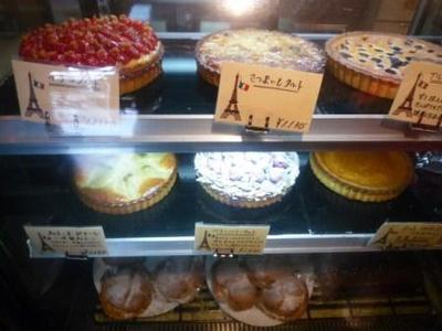 パリのパン屋さんボンジュールのタルトなどスイーツ系2