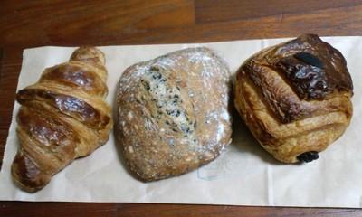 パン屋さんブーランジェリークークのパン1