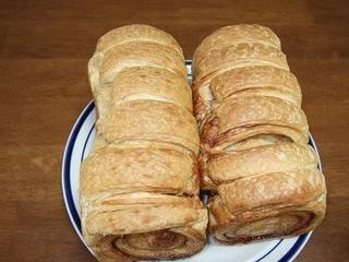 エスピーガ・デ・オロのシナモンが入ったデニッシュ・食パン