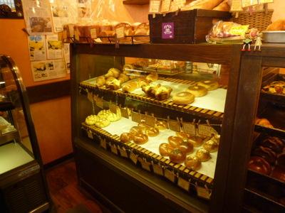 秀のパン工房のパンコーナー2