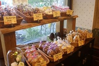 ベーカリーコナーの御菓子コーナー