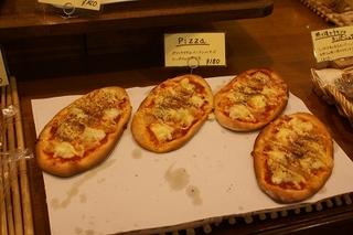 PANZOUのピザ