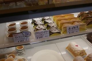 リッチモンドのチーズケーキ