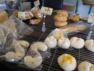 手作り天然酵母パン ブロンジェリーカフェ ヤマシタの手作りパン1